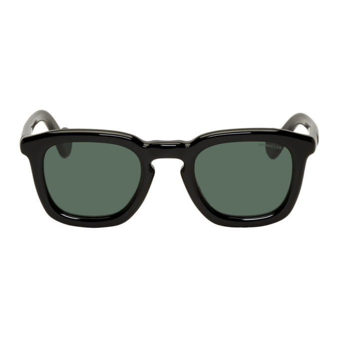 Photo: Moncler Black Mr Moncler ML 0006 Sunglasses