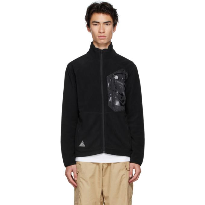 Photo: Billionaire Boys Club Black Fleece Zip-Up Jacket
