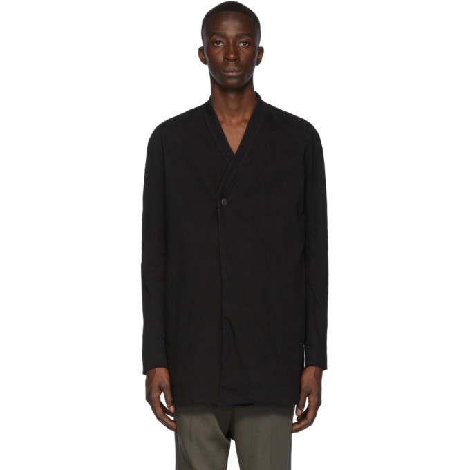 Photo: Boris Bidjan Saberi Black Resin Dyed Blazer