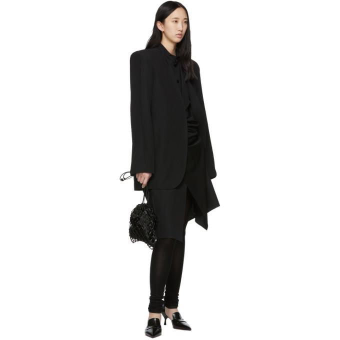 Lemaire Black Suit Blazer