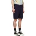 Wood Wood Navy Harvey Shorts