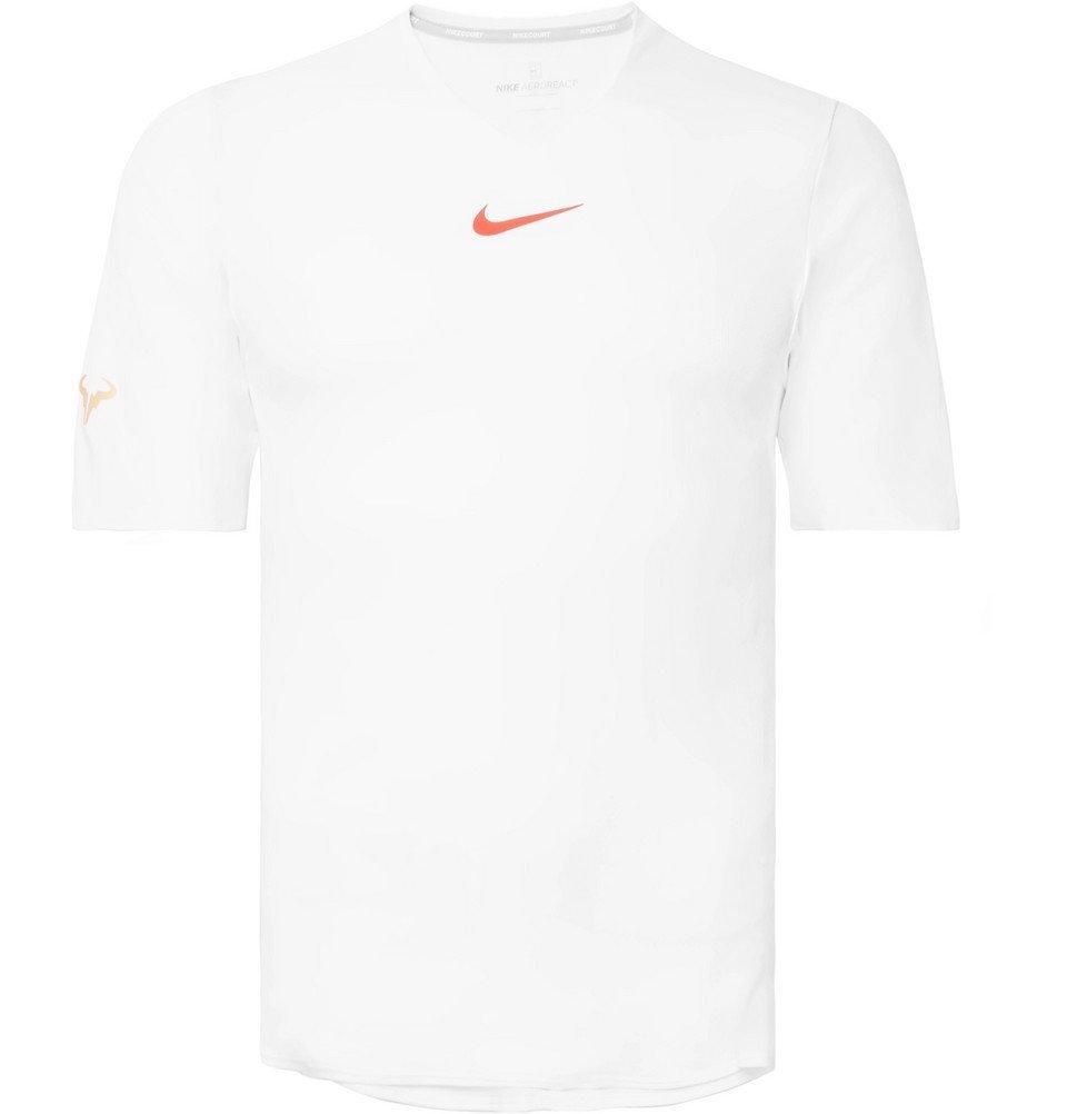Photo: Nike Tennis - NikeCourt Rafa AeroReact Tennis T-Shirt - Men - White