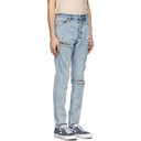 Ksubi Blue Chitch Exposed Camp Jeans