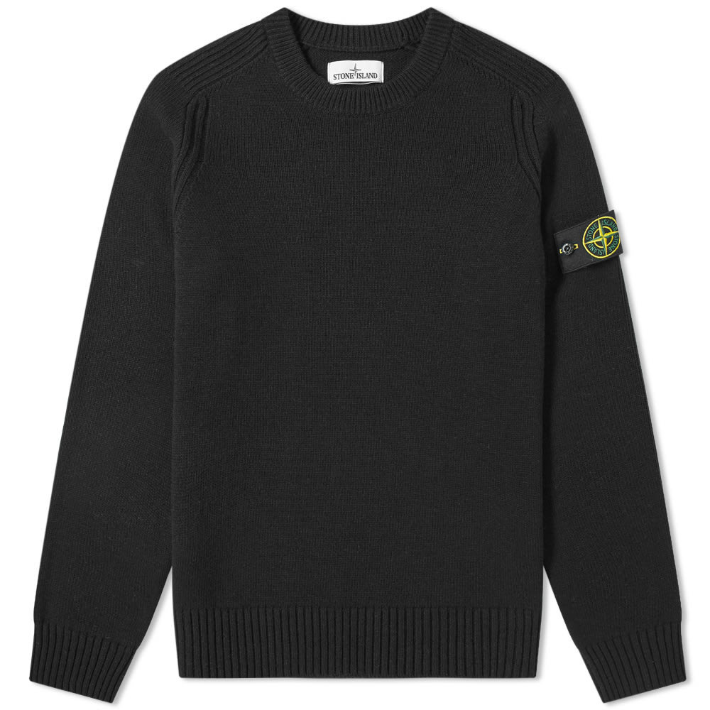 Photo: Stone Island Lambswool Crew Knit