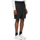 3.1 Phillip Lim Black Pleated Drawstring Walking Shorts