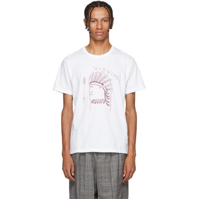 Photo: Visvim White Logo T-Shirt