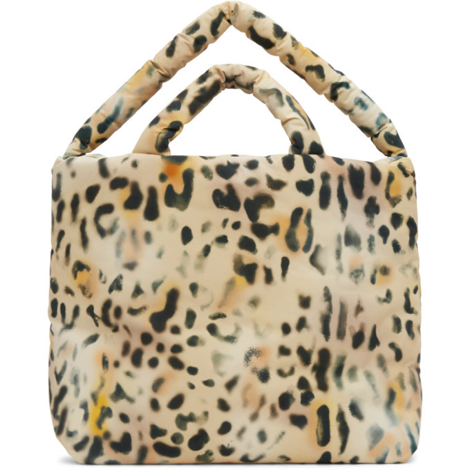 Photo: Kassl Editions Yellow and Black Leopard Large Tec Tote