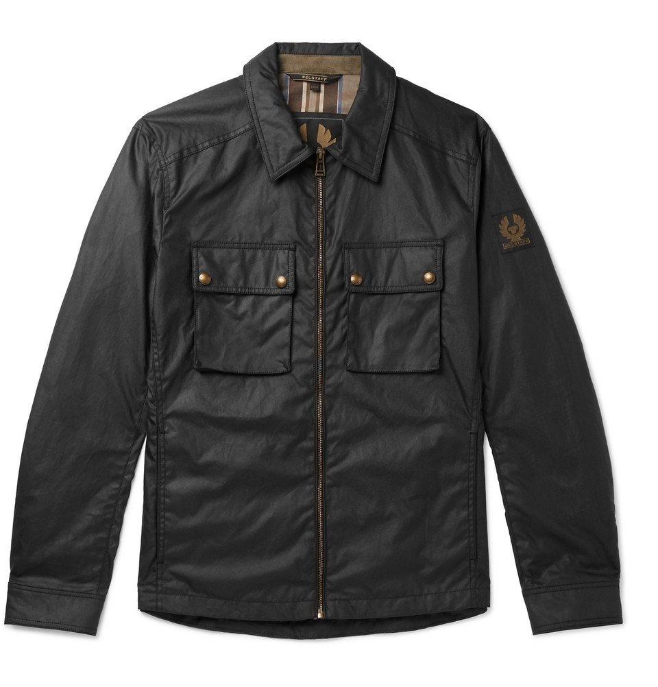 Belstaff - Dunstall Waxed-Cotton Jacket - Black
