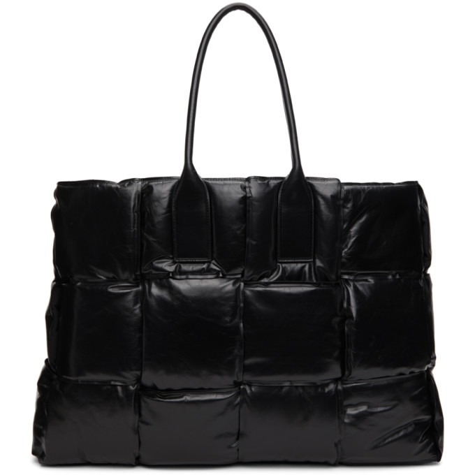 Photo: Bottega Veneta Black BV Squash Tote