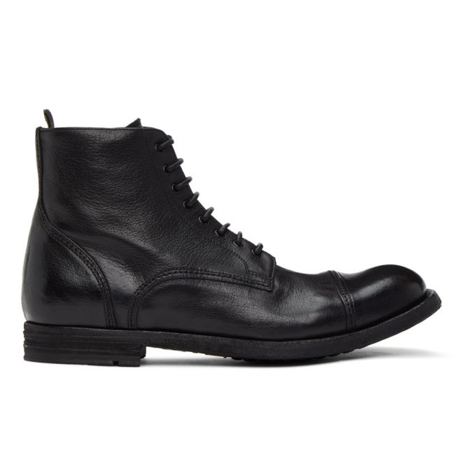 Photo: Officine Creative Black Journal 3 Boots