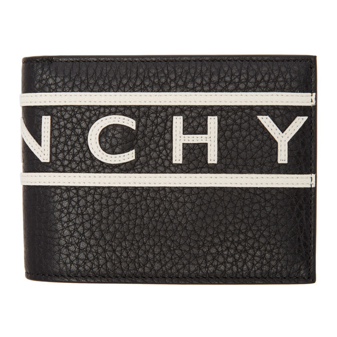 Photo: Givenchy Black Reverse Logo Wallet