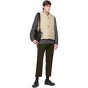 Sunspel Grey Wool Cashmere Twin Pocket Jacket