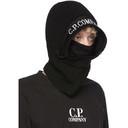 C.P. Company Black Wool Logo Balaclava