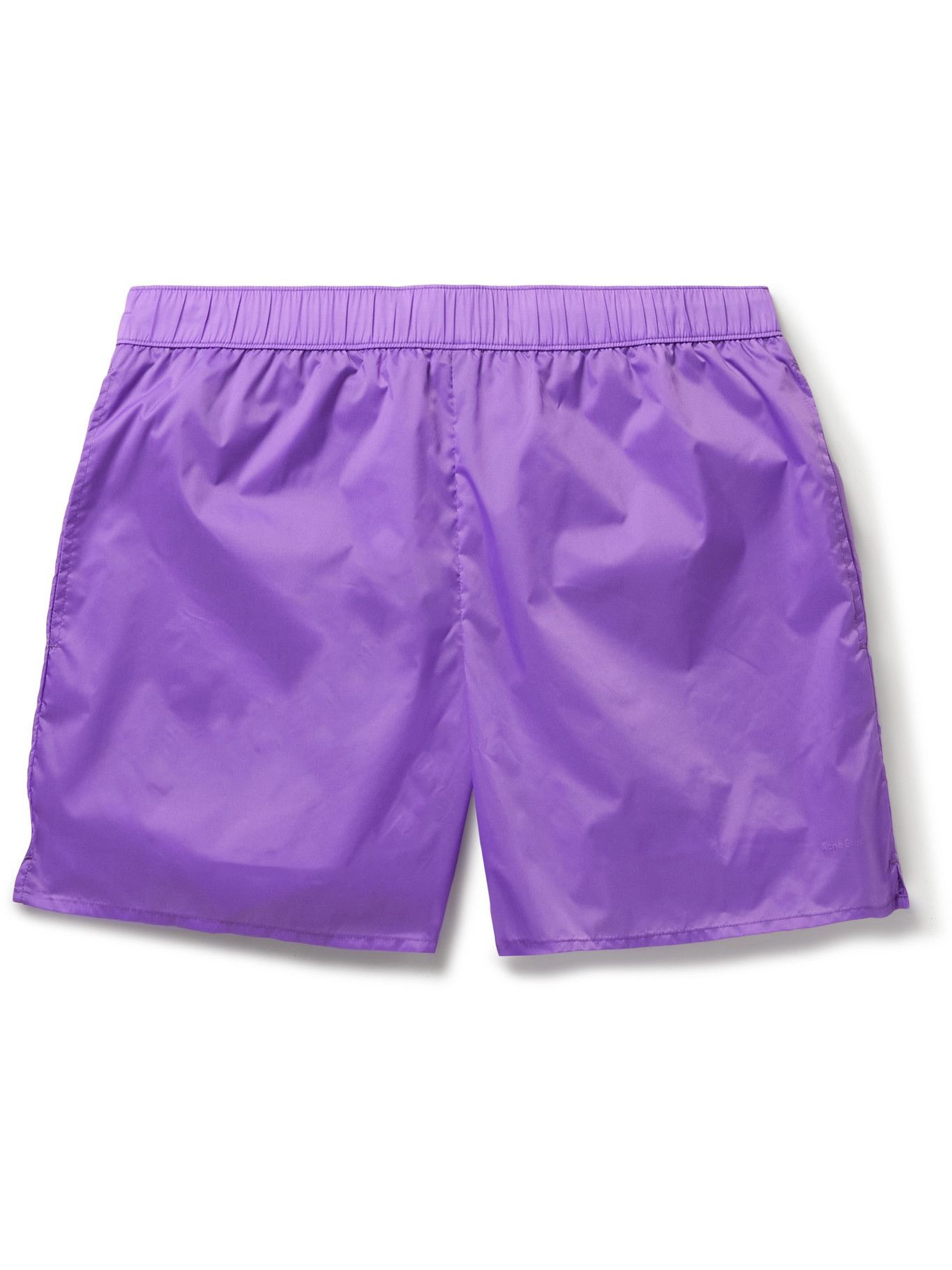Photo: Acne Studios - Warrick Mid-Length Swim Shorts - Purple