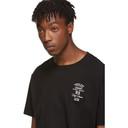 Raf Simons Black Embroidery Slim-Fit T-Shirt