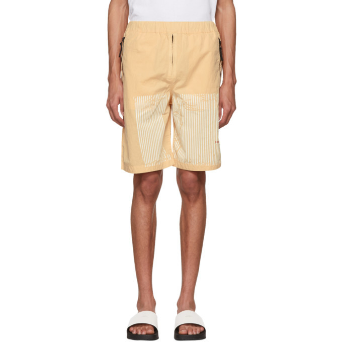 Photo: Stone Island Pink Marina Shorts