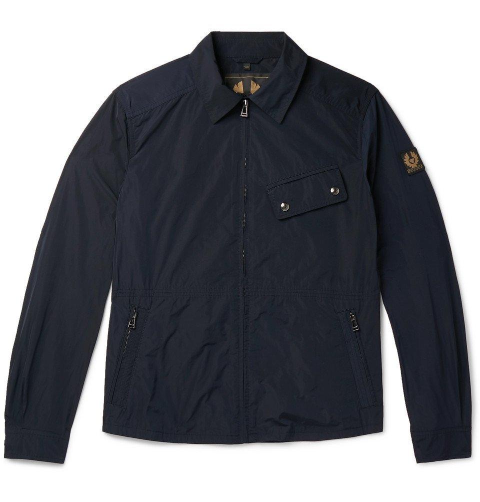 Belstaff - Camber Garment-Dyed Shell Jacket - Navy