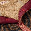 KAPITAL - Printed Cotton-Fleece Half-Placket Jacket - Brown