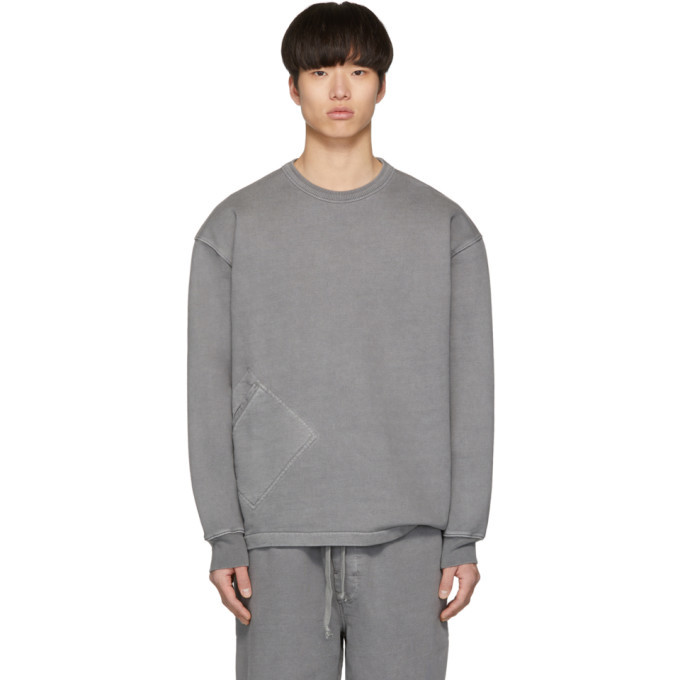 Photo: Lemaire Grey Terry Sweatshirt