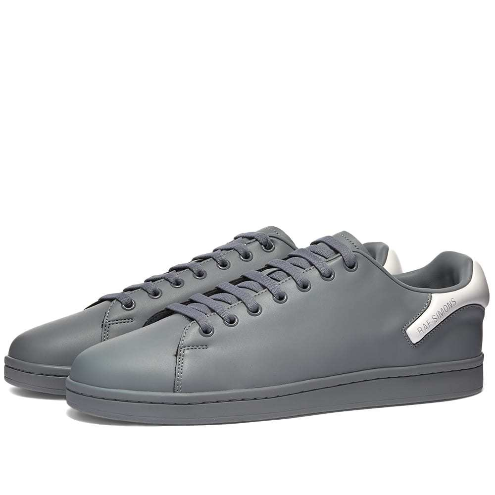 Photo: Raf Simons Orion Contrast Heel Leather Cupsole Sneaker