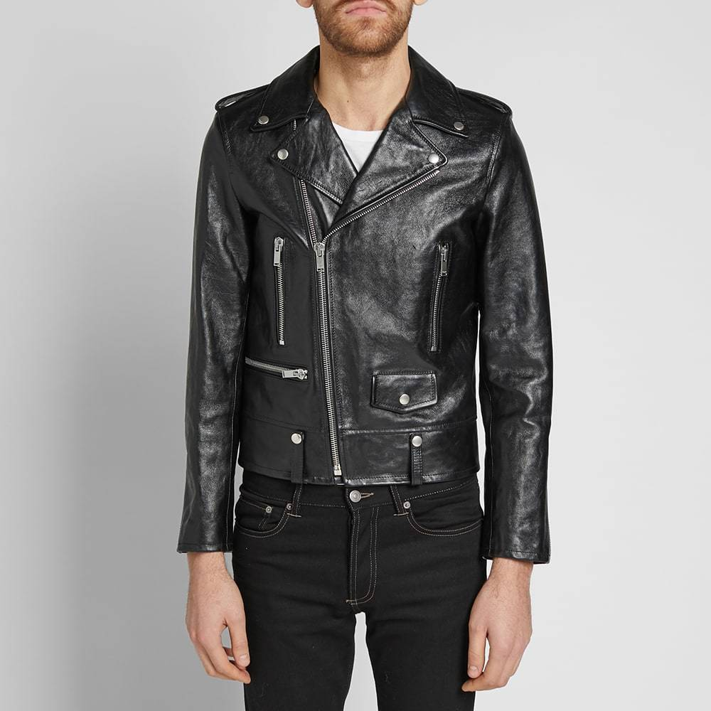 Photo: Saint Laurent Classic Biker Jacket