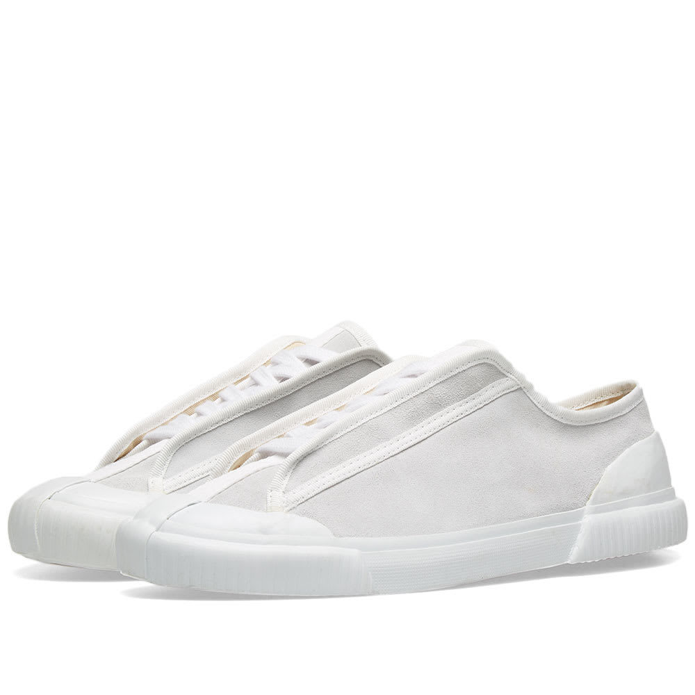 Photo: Grenson x Craig Green Low Top Suade Sneaker White Suede