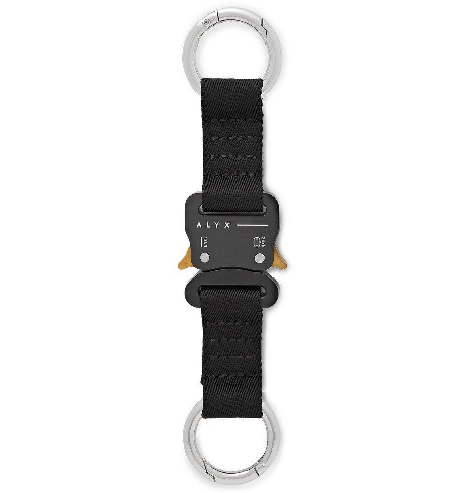 1017 ALYX 9SM - Webbing Key Fob - Black
