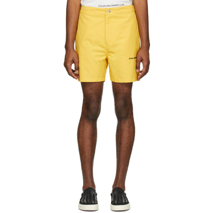 Photo: Stolen Girlfriends Club Yellow Subtle Shorts