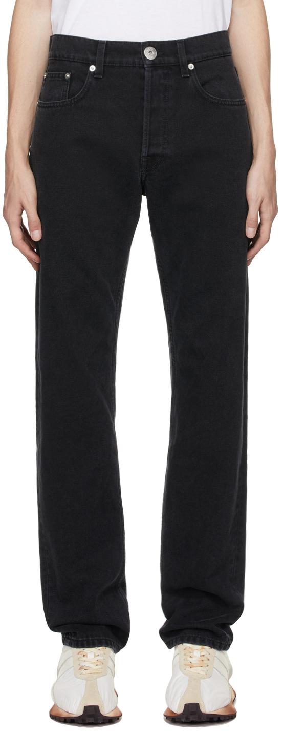 Photo: Lanvin Black Slim Jeans