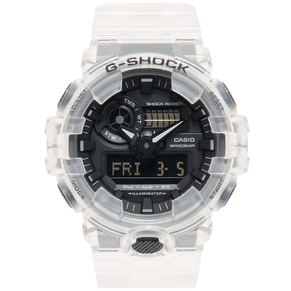 Photo: Casio G-Shock GA-700 Transparent Watch