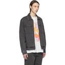 Ksubi Grey Denim Werker Jacket