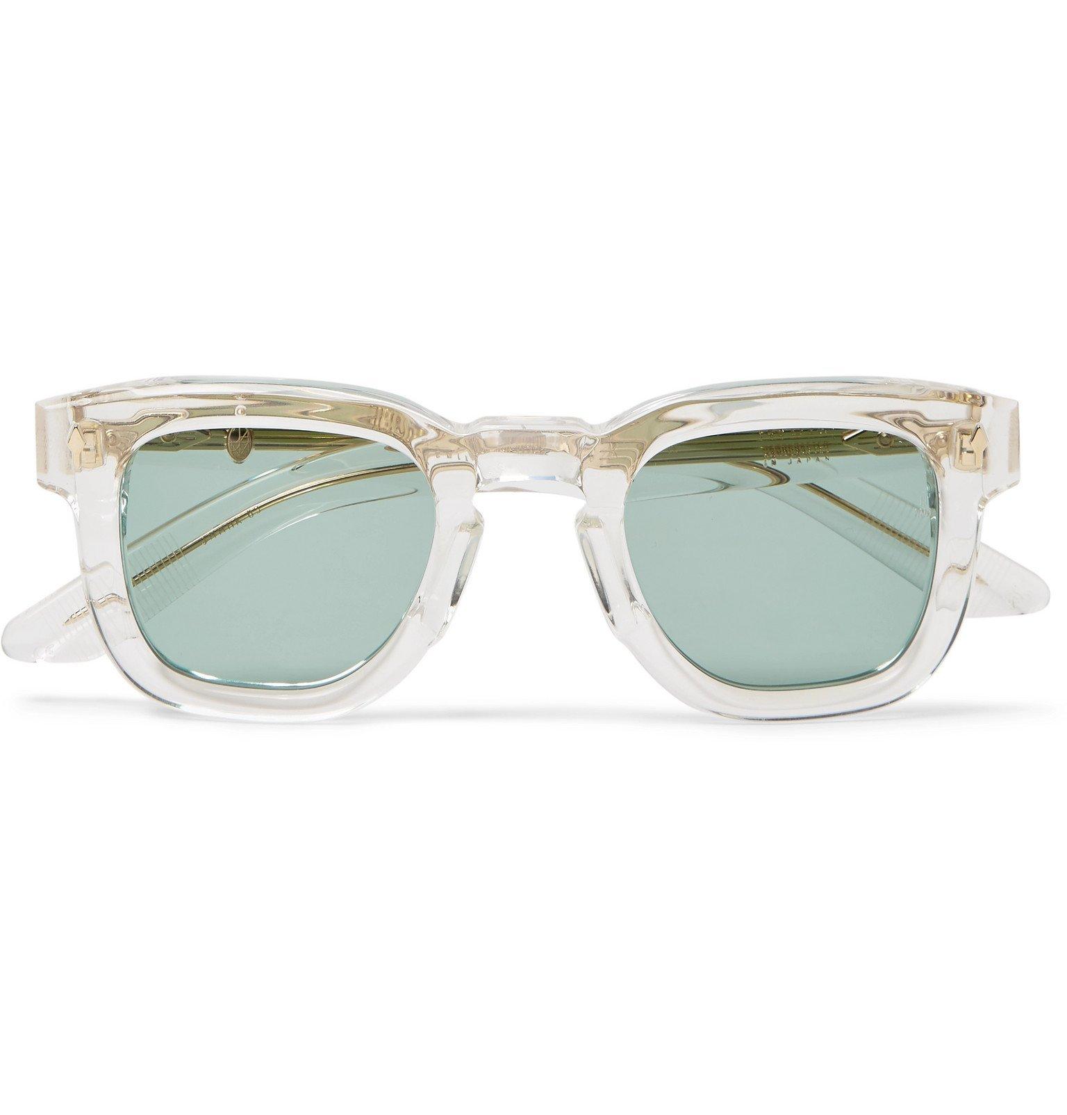 Photo: Jacques Marie Mage - Hickok D-Frame Acetate Sunglasses - Neutrals