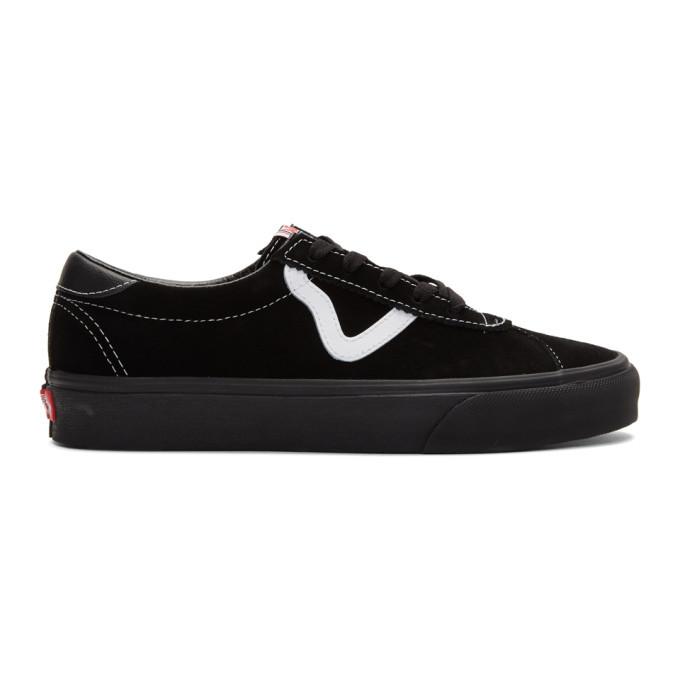 Photo: Vans Black Suede Sport Sneakers