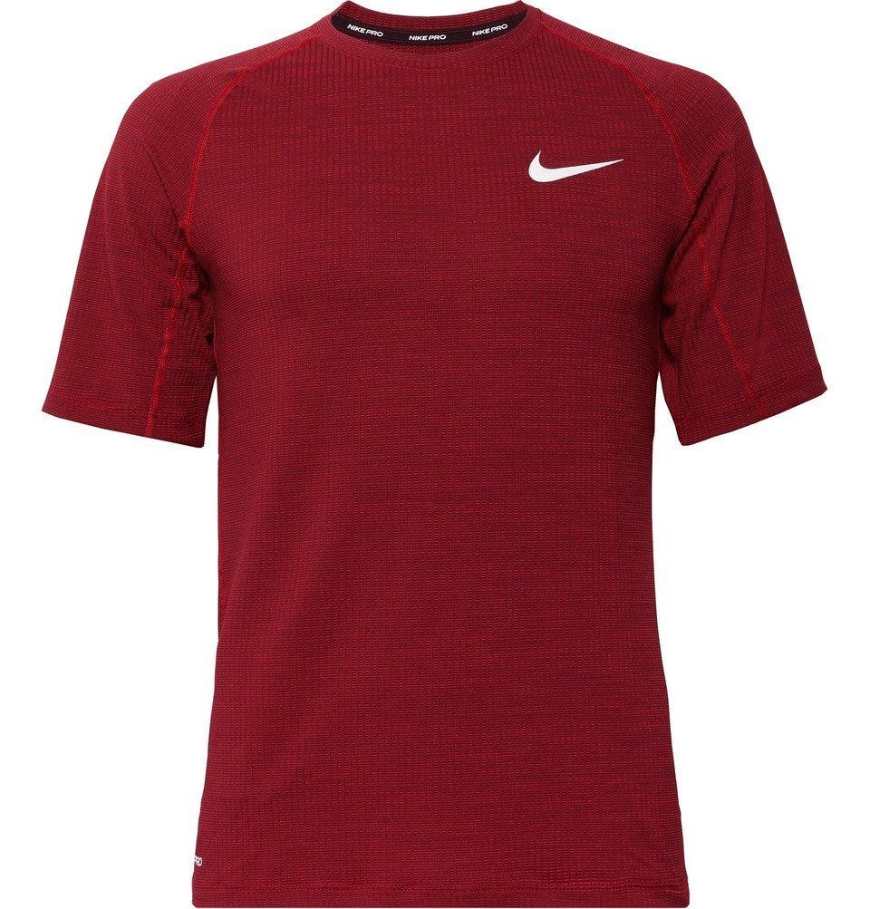 Photo: Nike Training - Pro Slim-Fit Dri-FIT T-Shirt - Red