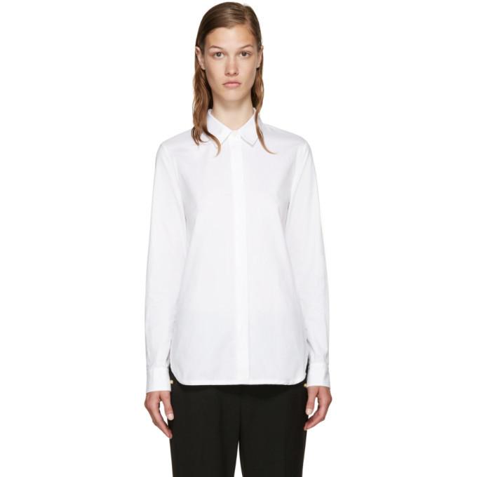 3.1 Phillip Lim White Back Overlay Shirt