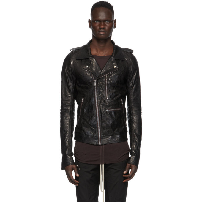 Photo: Rick Owens Black Acid Tecuatl Stooges Jacket