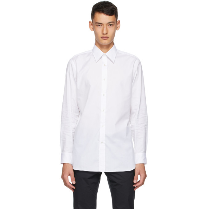 Dunhill White Formal Shirt