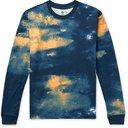 adidas Originals - SPRT Logo-Embroidered Printed Cotton-Jersey T-Shirt - Blue