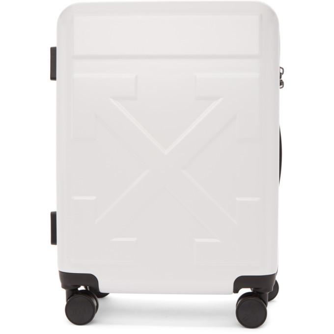 Photo: Off-White White Arrows Suitcase