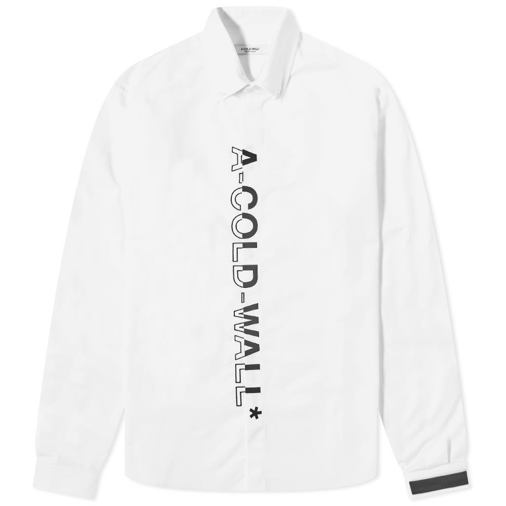 Photo: A-COLD-WALL* Logo Button Down Shirt