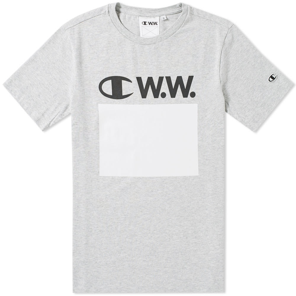 Wood Wood x Champion Logo Tee