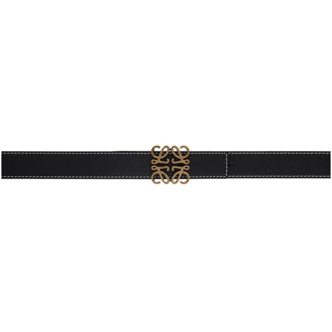 Photo: Loewe Black Anagram Belt