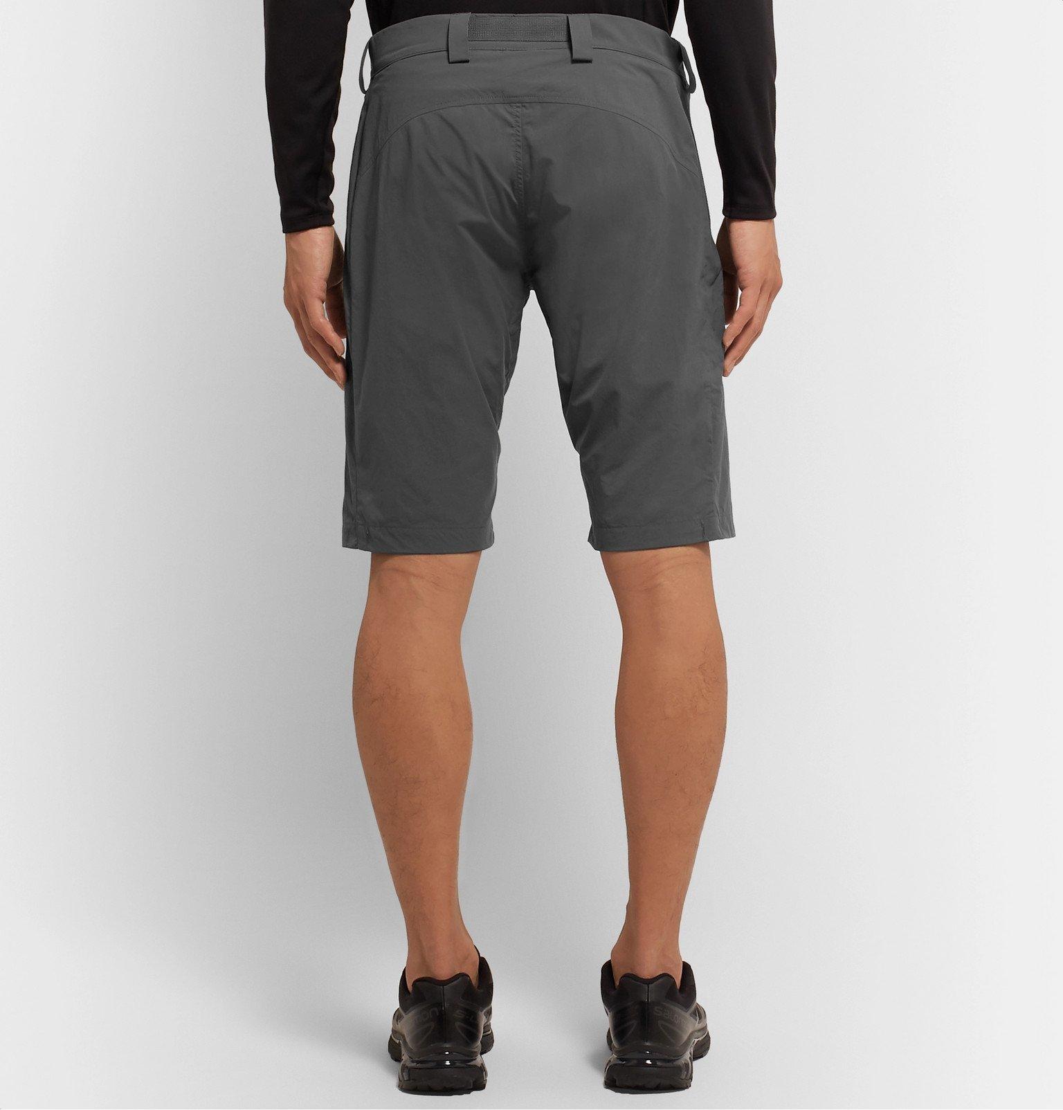 Rab - Calient Belted Matrix Shorts - Gray