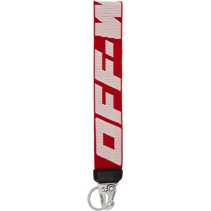 Photo: Off-White Red Industrial 2.0 Keychain