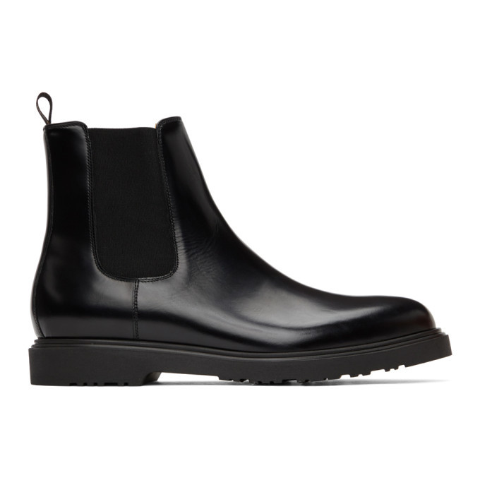 Photo: Paul Smith Black Lambert Chelsea Boots