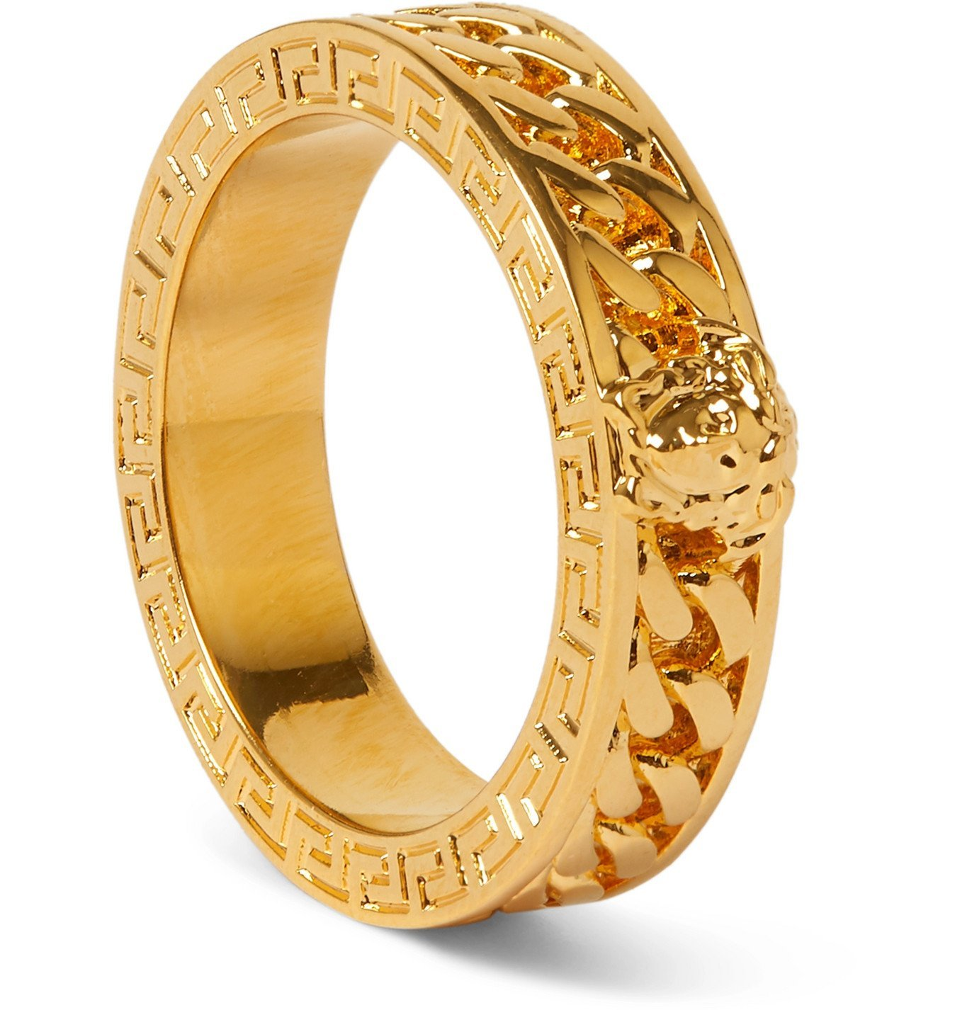 Versace - Gold-Tone Ring - Gold