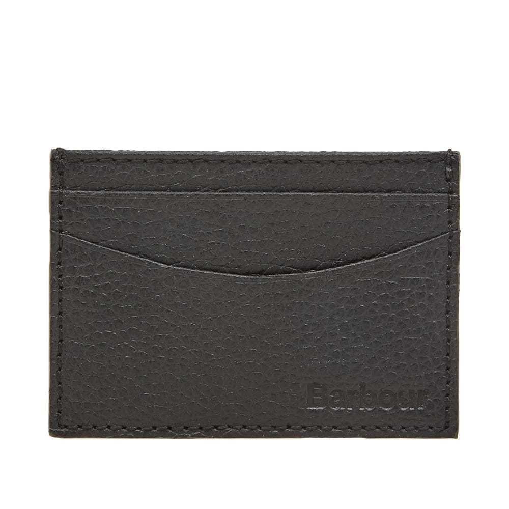 Photo: Barbour Grain Leather Card Holder