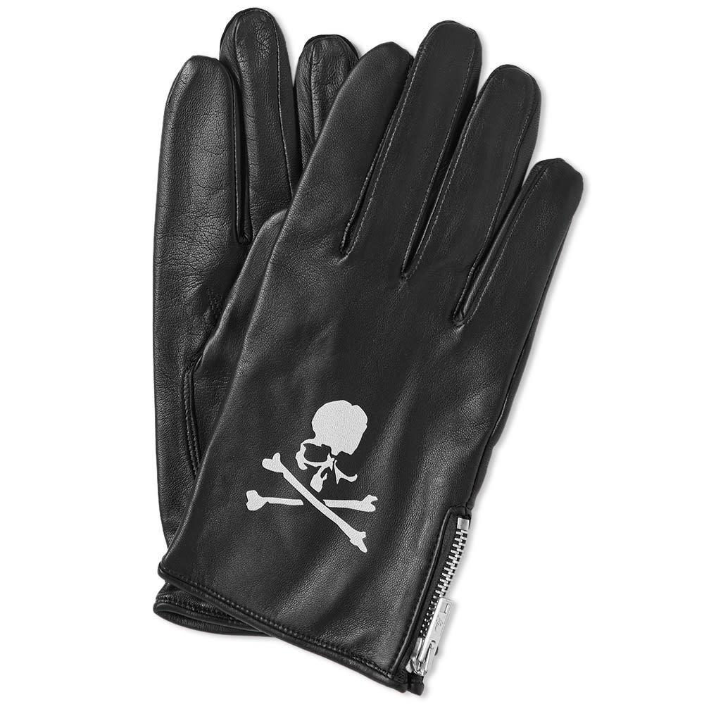 Photo: MASTERMIND WORLD Leather Gloves