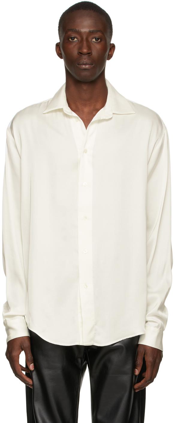 Photo: GmbH Off-White Satin Shirt