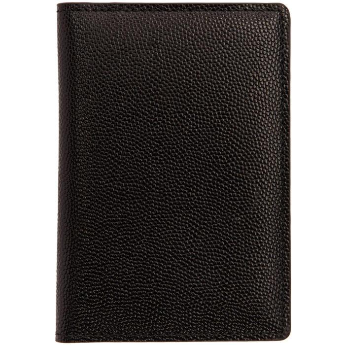 Common Projects Black Portfolio Wallet